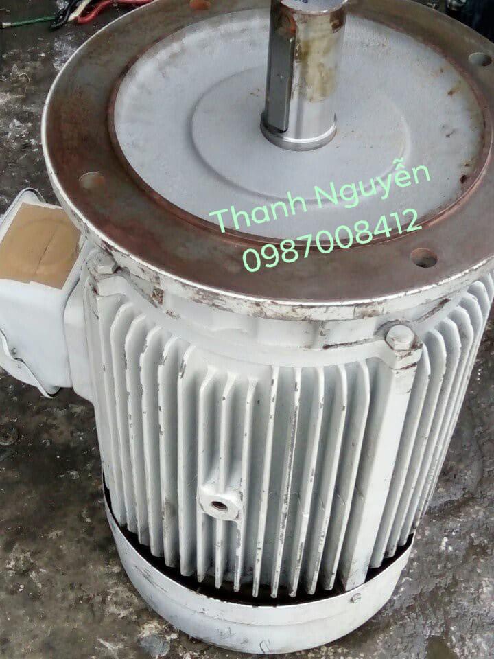 Motor giảm tốc Mặt Bích 15kw ...4P...FUJI